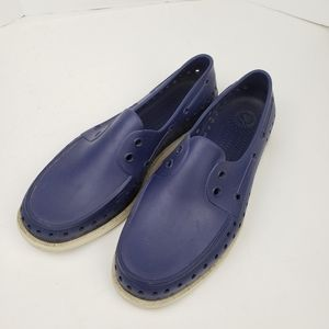 Native Blue Loafers